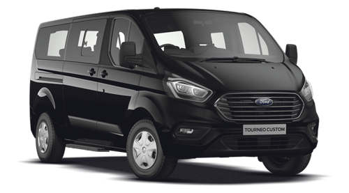Ford Turneo Custom Zurich transfer